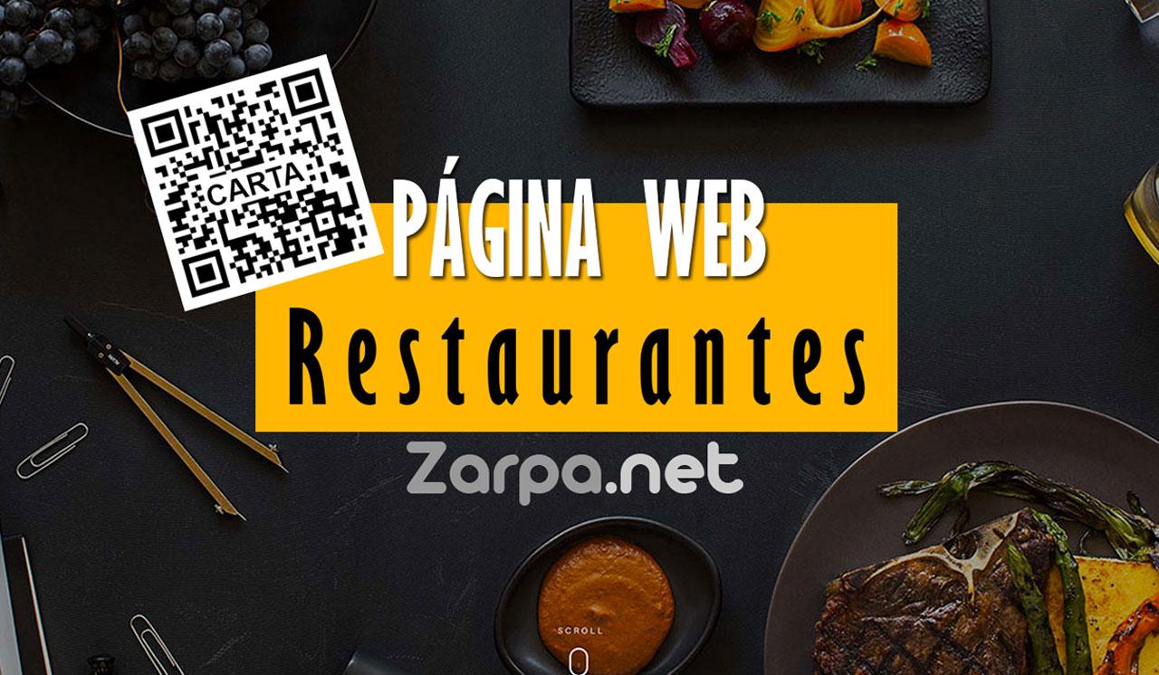 PÁGINA WEB RESTAURANTES CON CÓDIGO QR